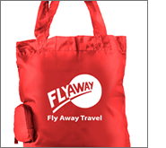 Printed foldable shopping bags are a great advertisement for any business