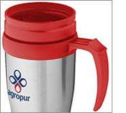 Boost your brand and important message with promotional travel mugs