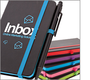 Quality promotional notebooks and pens for all your potentials