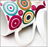 Take advantage of elegant promotional porcelain mugs!