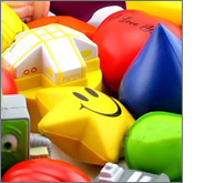 Endless promotions with printed stress balls