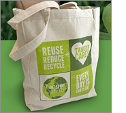 The perfect environmentally way in which to promote your business or organisation