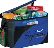 Branded cooler bags represent a fantastic long term promotional giveaway