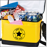 Promotional printed cooler bags represent a fantastic long term promotional giveaway