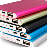 Printed power banks - practical low cost brand promoters