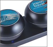 Using branded speakers for recognition programmes