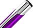 Push Action Metal Pens
