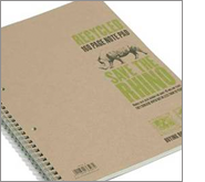 Eco-friendly, cost-effective and useful recycled printed notepads