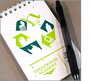 Branded recycled notepads for successful marketing campaigns