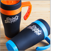 We have a huge choice of thermal travel cups and mugs for you to choose from