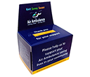 Small Flat Pack Charity Collection Boxes  by Gopromotional - we get your brand noticed!