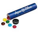 Sweet Tubes - Chocolate Beanies  by Gopromotional - we get your brand noticed!