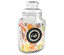 Classic Glass Sweet Jars - Lollipops  by Gopromotional - we get your brand noticed!