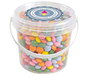 Mini Sweet Buckets - Coated Chocolate Drops  by Gopromotional - we get your brand noticed!