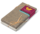Belgian Chocolate Duo Bars  by Gopromotional - we get your brand noticed!