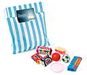 Candy Bags - Retro Sweets - 60g  by Gopromotional - we get your brand noticed!