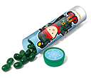 Christmas Maxi Sweet Tubes - Elf Gourmet Jelly Beans  by Gopromotional - we get your brand noticed!
