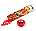 Christmas Maxi Sweet Tubes - Rudolph Noses Gourmet Jelly Beans  by Gopromotional - we get your brand noticed!