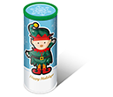 Christmas Midi Sweet Tubes - Elf Gourmet Jelly Beans  by Gopromotional - we get your brand noticed!