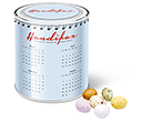 Large Sweet Paint Tins - Speckled Chocolate Eggs  by Gopromotional - we get your brand noticed!