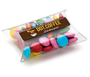 Large Sweet Pouches - Chocolate Beanies  by Gopromotional - we get your brand noticed!