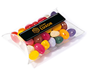 Large Sweet Pouches - Gourmet Jelly Beans  by Gopromotional - we get your brand noticed!