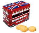London Bus Tins - Original Scottish Mini Shortbreads  by Gopromotional - we get your brand noticed!