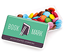 Maxi Rectangular Sweet Pots - Chocolate Beanies  by Gopromotional - we get your brand noticed!
