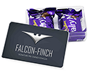 Maxi Rectangular Sweet Pots - Dairy Milk Chocolate Chunks  by Gopromotional - we get your brand noticed!