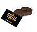 Maxi Rectangular Sweet Pots - Milk Chocolate Buttons  by Gopromotional - we get your brand noticed!