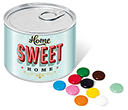 Mini Ring Pull Sweet Tins - Chocolate Beanies  by Gopromotional - we get your brand noticed!