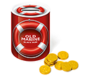Money Box Sweet Tins - Chocolate Coins  by Gopromotional - we get your brand noticed!