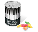 Ring Pull Sweet Tins - Worms  by Gopromotional - we get your brand noticed!