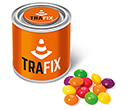Small Sweet Paint Tins - Skittles  by Gopromotional - we get your brand noticed!