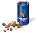 Snack Tubes - Chocolate Solars  by Gopromotional - we get your brand noticed!