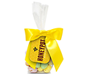Swing Tag Sweet Bags - Speckled Chocolate Eggs  by Gopromotional - we get your brand noticed!