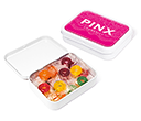 White Sweet Tins - Polo Fruits  by Gopromotional - we get your brand noticed!