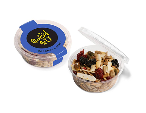 Eco Midi Pots - Coconut & Berry Snacks