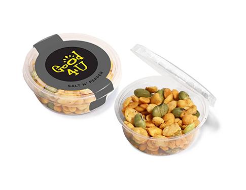Eco Midi Pots - Salt & Pepper - Veggie Protein Snacks