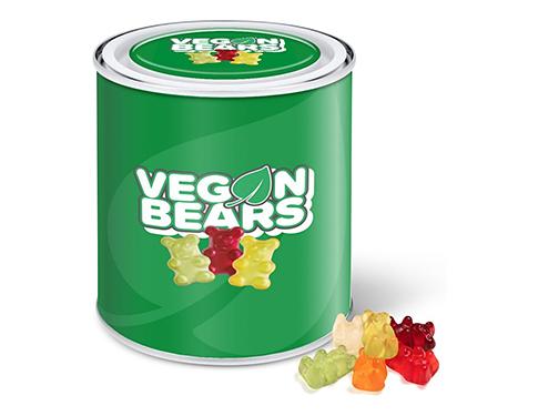 Large Sweet Paint Tin - Kalfany Vegan Bears