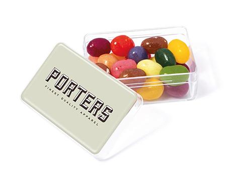 Midi Rectangular Sweet Pots - Gourmet Jelly Beans