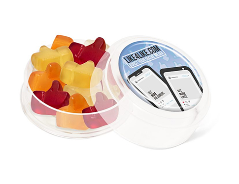 Mini Round Sweet Pots - Kalfany Fruit Gums