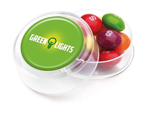 Mini Round Sweet Pots - Skittles