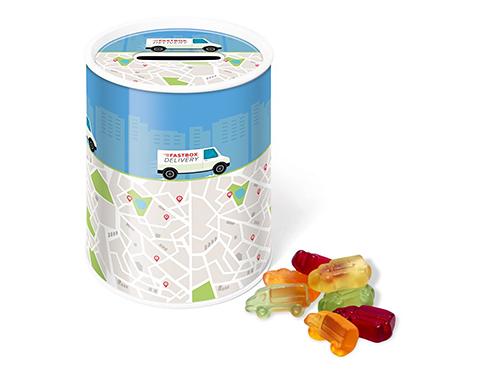 Money Box Sweet Tin - Kalfany Fruit Gums