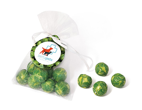 Organza Bags - Chocolate Sprouts