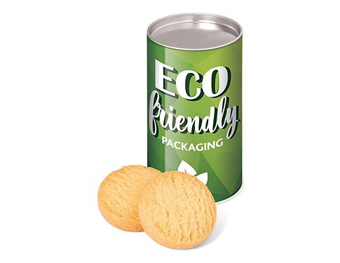 Eco Snack Tube - Mini Shortbread Biscuits - Small