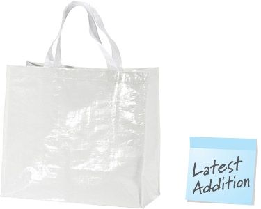 Promotional Glossy Tote Shopping Bags Printed With Your