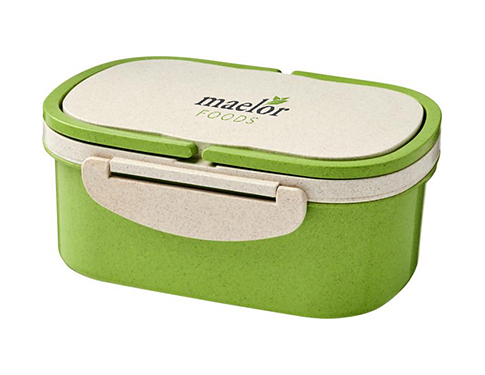 Spring Wheat Straw Fibre Lunch Box