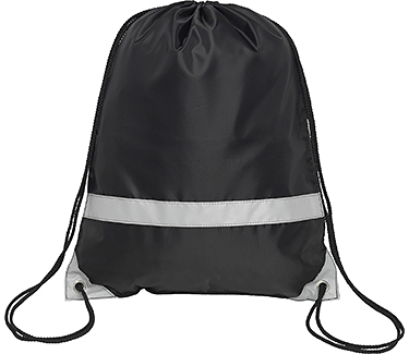 Save On Knockholt Reflective Drawstring Bags Printed With