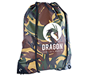 Camouflage Drawstring Bags  by Gopromotional - we get your brand noticed!